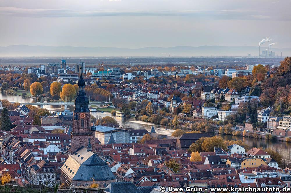 Fernsicht über Heidelberg