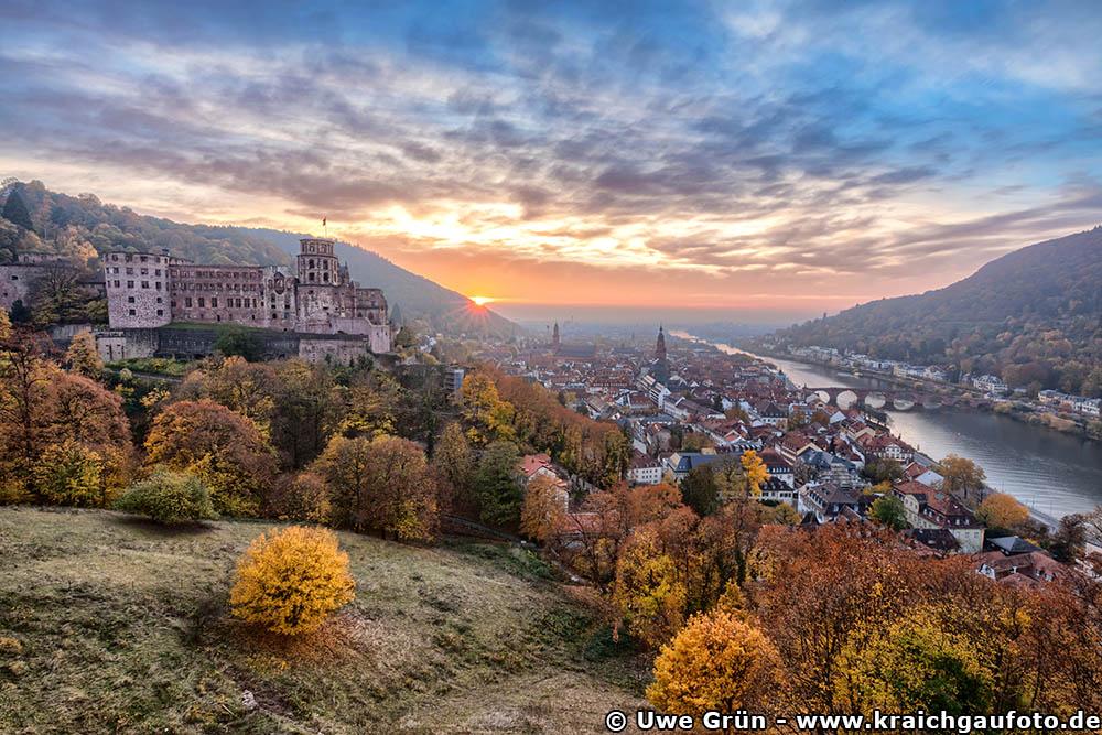 Heidelberg im Herbst